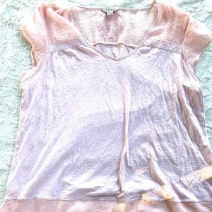Lucky brand detailed top size XL
